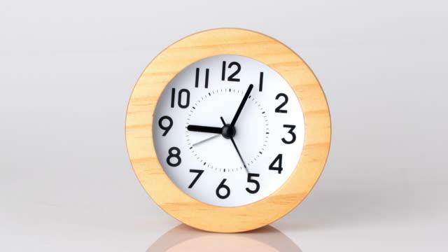 4k Zeitraffer-Uhr im Geschäftskonzept