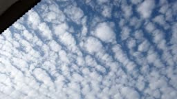 4k Time Lapse - Clouds Flying Overhead