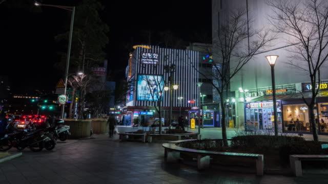 4k Timelapse Dongdaemun market soul korea