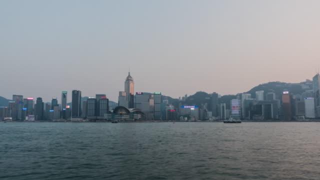 stockvideo's en b-roll-footage met 4k time-lapse van hong kong stad - hong kong