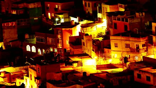 4 k 時間の経過: 都市グアナファト - 新約聖書点の映像素材/bロール