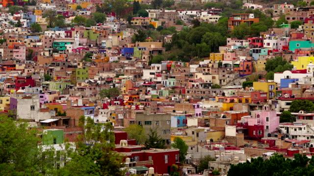 4k time-lapse:city of guanajuato - nuovo testamento video stock e b–roll