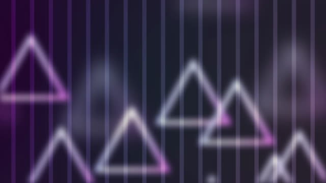 4k Triangle Abstract Background Animation