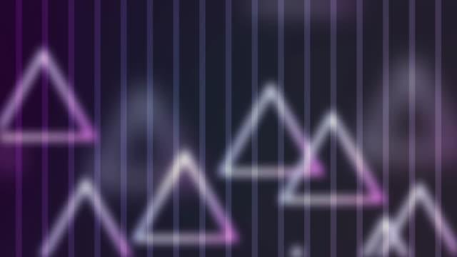 4 k Dreieck abstrakten Hintergrundanimation