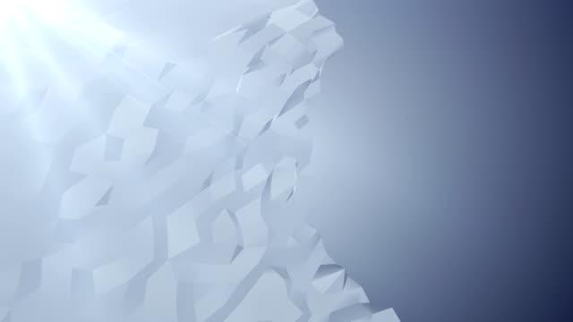 4k dreieck hintergrund - low poly modelling stock-videos und b-roll-filmmaterial