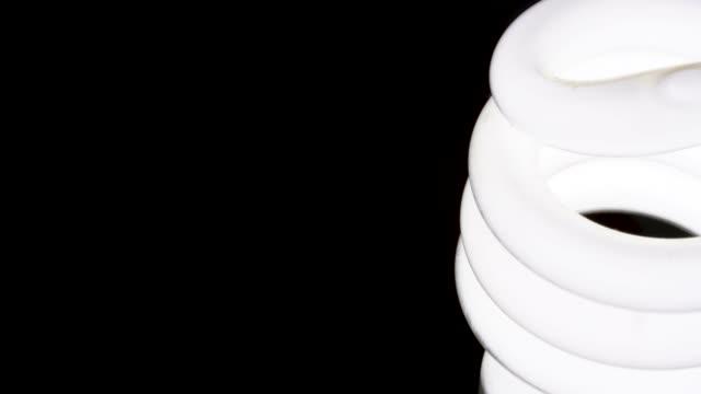 4k uhd footage of fluorescent - energy efficient lightbulb stock videos & royalty-free footage