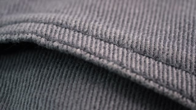 4k uhd footage of jeans jacket - jacket stock videos & royalty-free footage