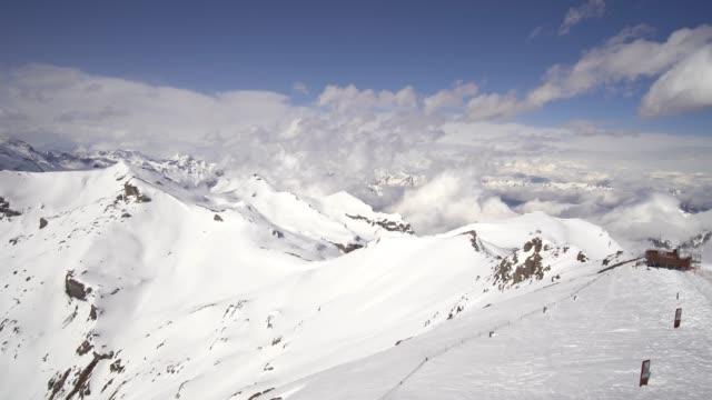 4k view of jungfraujoch, switzerland - lake lucerne stock videos & royalty-free footage