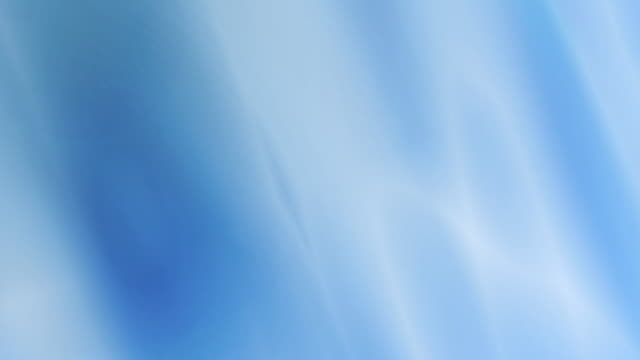 4k: waving blue fabric background. Seamless Loop