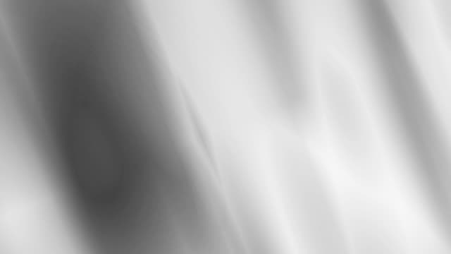 4k: waving silver fabric background. Seamless Loop
