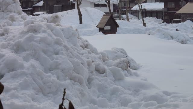 4 k: 汚れた雪の風景 - ダメージ点の映像素材/bロール