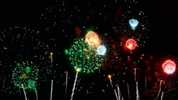 4k: Wonderful International Fireworks Festival