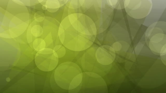 4k: Yellow Abstract Lights bokeh background. Seamless Loop