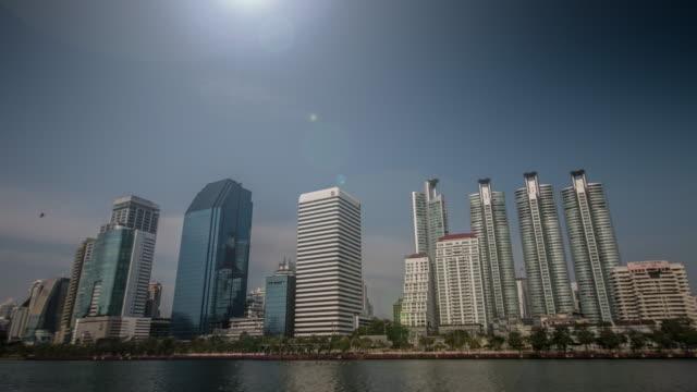 4K:Building time-lapse businesscentret (UHD)