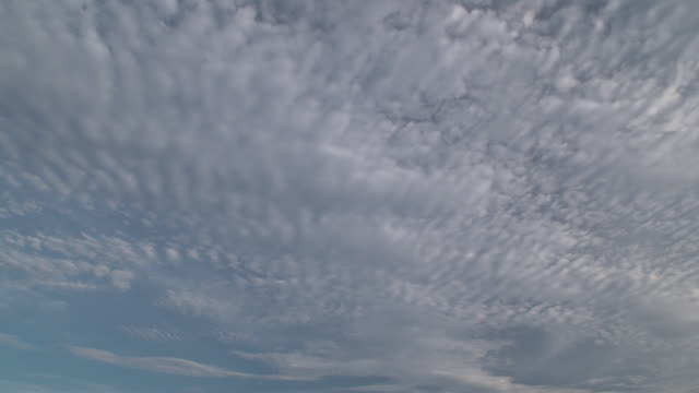 dci 4k,t/l, cloudscape in summer.tokyo/japan - cirrocumulus stock videos & royalty-free footage