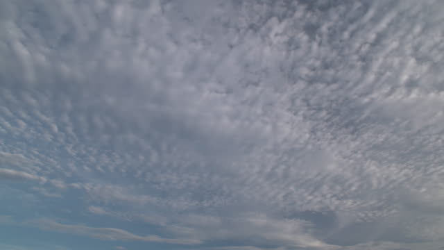 dci 4k,cloudscape in summer.tokyo/japan - cirrocumulus stock videos & royalty-free footage
