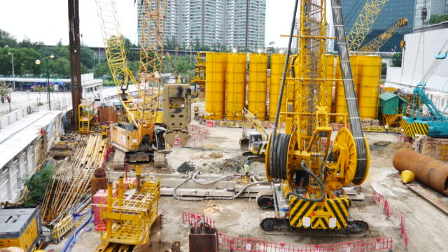 4k:construction site - scaffolding stock videos and b-roll footage