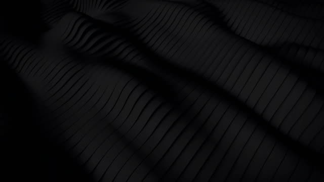 4K-Dark waves Background - Stock video