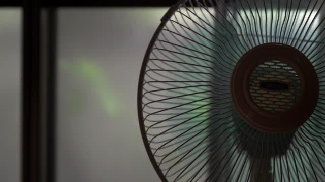 4k,electric fan in the room. - electric fan stock videos & royalty-free footage