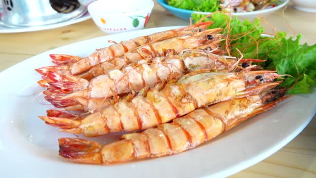 4K:Grilled shrimp