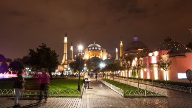 4K:Hagia Sophia Hyperlapse , Istanbul
