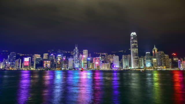 4k.Hong Kong Island.