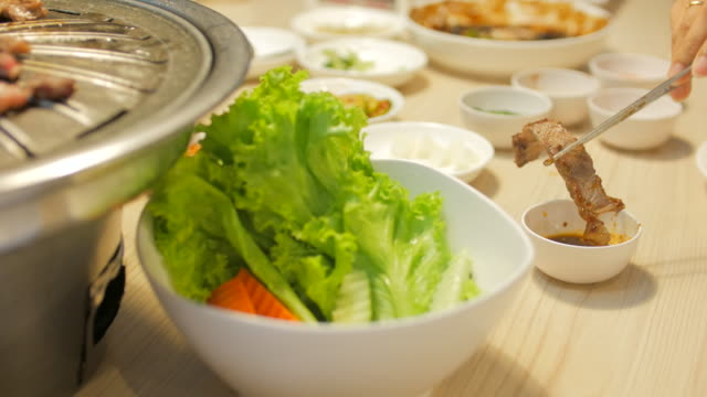 4K:Korean barbecue grill and Eat