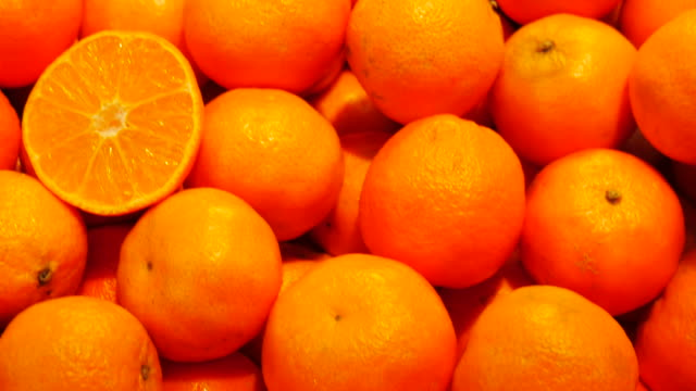 4k:orange in the local market - peel stock videos & royalty-free footage