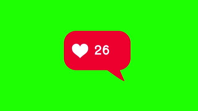 4k:random number of likes - thumb stock videos & royalty-free footage