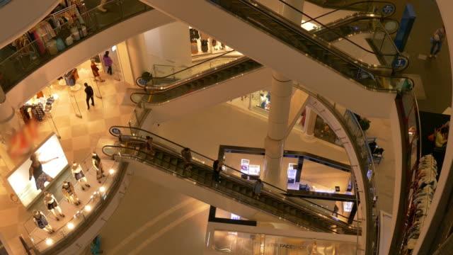 4K:Shopping people