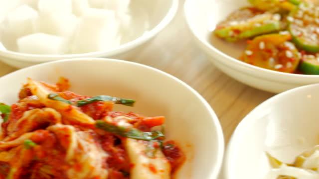 4K:Side Dish of Korean Food