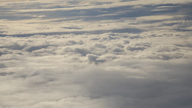 4K:Sky and cloud on the plane