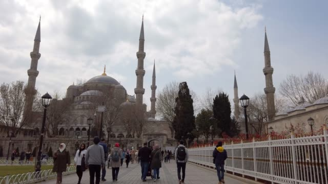 4k:suleymaniye mosque in istanbul - minaret stock videos & royalty-free footage