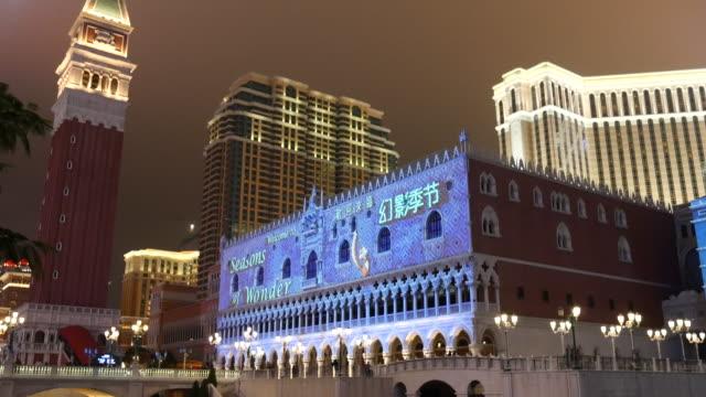 4K:The Venetian Macao,Panning shot