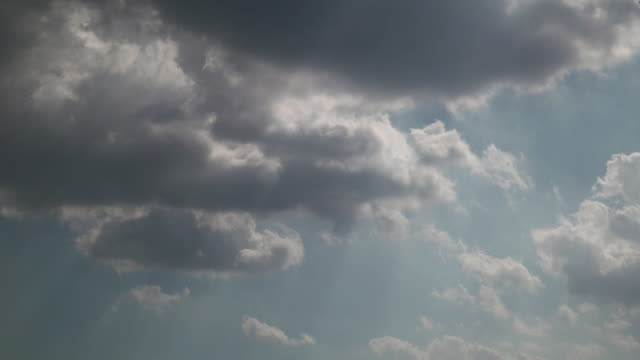 4 K, Time lapse remate de céu e clouds.Tokyo, Japão 2of3