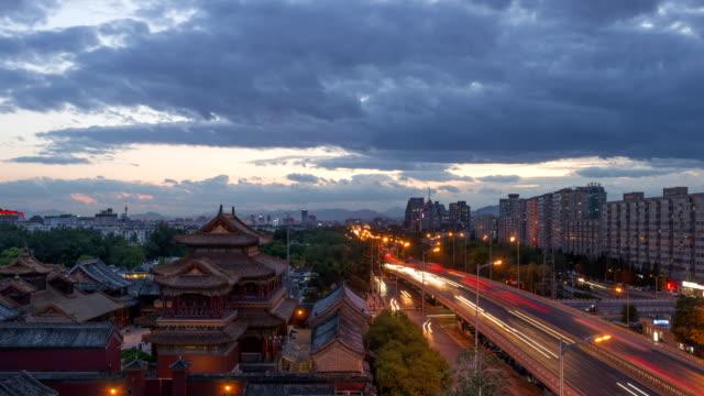 4K-Time Lapse-förbjudna staden - Beijing, Kina