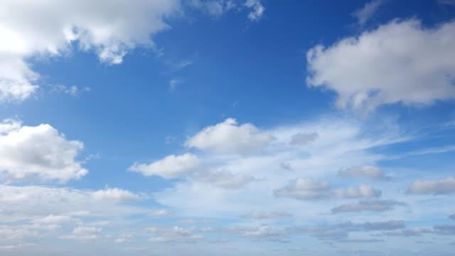 4k:澄んだ空のタイムラプス - 合成画像点の映像素材/bロール