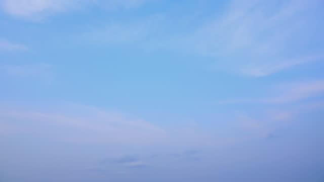 4k:timelapse of the clear sky. - satoyama scenery stock videos & royalty-free footage