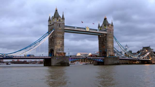 4K:Tower Bridge, London