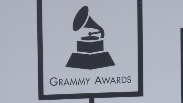 ATMOSPHERE SIGNAGE 58th Annual GRAMMY Awards® at Staples Center on February 15 2016 in Los Angeles California
