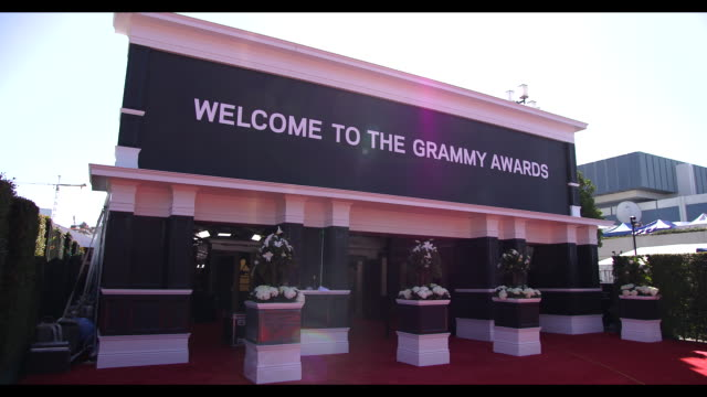 ATMOSPHERE 59th Annual Grammy Awards Arrivals at Staples Center on February 12 2017 in Los Angeles California 4K