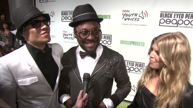 5th Annual Black Eyed Peas Peapod Foundation Benefit Concert Los Angeles CA United States 02/05/09