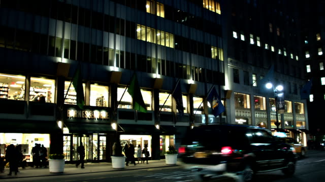 5th avenue  46 street manhattan - broadway manhattan stock videos & royalty-free footage