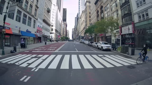 5th avenue luxury stores hit by covid-19 - avenue stock videos & royalty-free footage