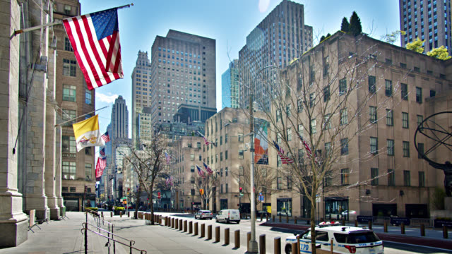 5th avenue. new york city. - fifth avenue stock videos & royalty-free footage