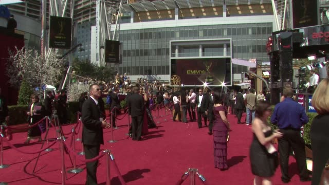 60th primetime emmy awards at los angeles ca - 2008 stock videos & royalty-free footage
