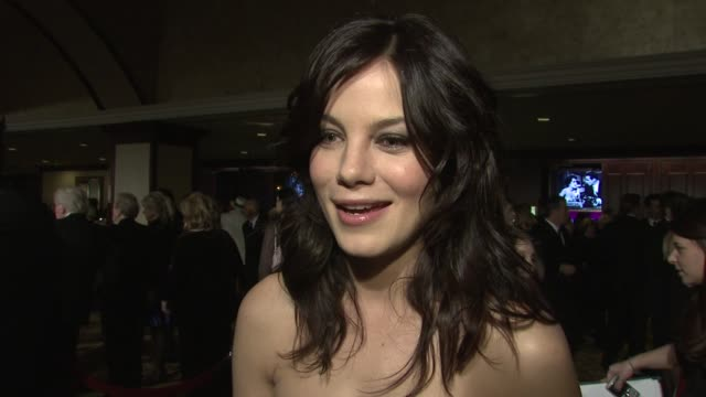61st annual dga awards at the hyatt regency century plaza los angeles ca united states 01/31/09 - michelle monaghan stock videos & royalty-free footage