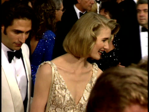 64th academy awards: laura dern on the red carpet. - laura dern stock videos & royalty-free footage