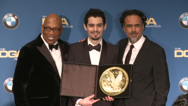 clean 69th annual directors guild of america awards in los angeles ca - directors guild of america awards stock videos & royalty-free footage