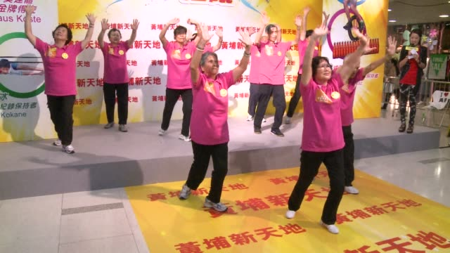 69yearold German Olympics gold medalist Klaus Kšste promotes sport for Hong Kong elderly during a visit to the southern Chinese city Honk Kong China